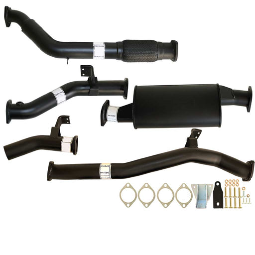 Toyota Landcruiser 76 Series VDJ76 V8 MY17 3 inch Turbo Back Exhaust With Muffler Only