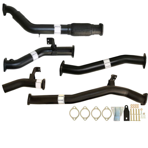 Toyota Landcruiser 76 Series VDJ76 V8 MY17 3 inch Turbo Back Exhaust With Pipe Only