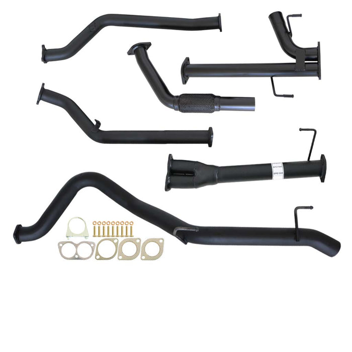 200 Series Landcruiser V8 3 inch Turbo Back Exhaust With Pipe Only