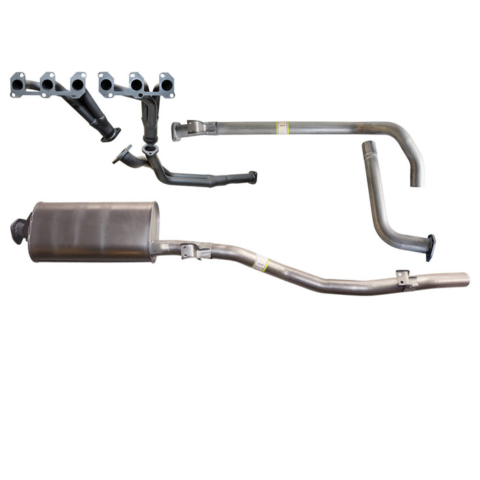 "Toyota Landcruiser HZJ79 4.2L 1HZ Diesel 99-07 2.5"" Exhaust With Header & Muffler"