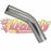Exhaust Pipe Mandrel Bend 2.5 Inch 45 Degree 63Mm Raw Stainless Steel - DandyExhaust