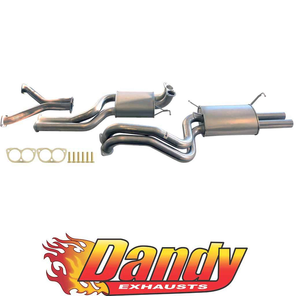 Ford Falcon Ba Bf Xr8 V8 Sedan Twin 2.5 Inch Catback Exhaust - DandyExhaust