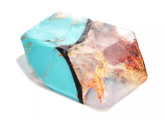 Crystal Soap: Turquoise