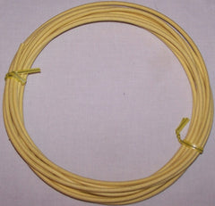 10 gauge Cloth Covered Primary Wire--Yellow