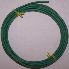 18 gauge Cloth Covered Primary Wire--Green