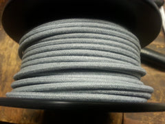 16 gauge Cloth Covered Primary Wire--Gray