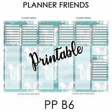 "Load image into Gallery viewer, PP B6 Digital Printable ""TIFFANY"" Weekly Stickers"