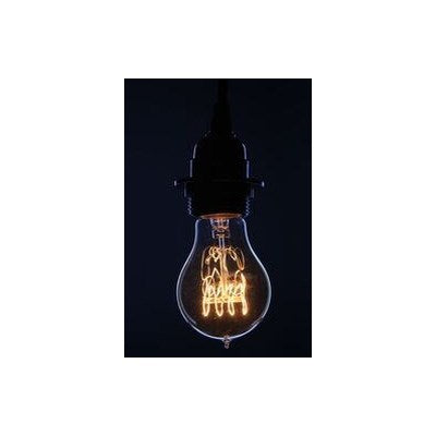 A60-23 - Edison Filament - Edison Antique Vintage Light Bulb -  - 40 wattage - E26 - 3,000 hrs of life