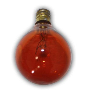 C7G40A - Global Replacement bulb - 1pcs - Amber bulb for C7 cord.  Candelbra size bulb.5 Wattage