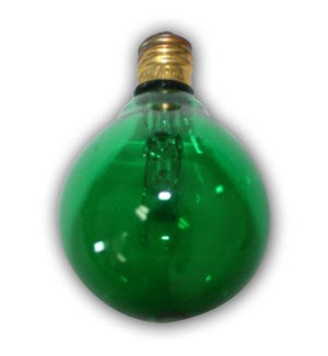 C7G40G - Global Replacement bulb - 1pcs - Green bulb for C7 cord.   Candelbra size bulb.  5 Wattage