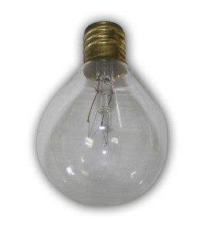 C9G50C - Aspen String Lights Clear Replacement Bulb - 1pcs - intermed size bulb.  7 Wattage