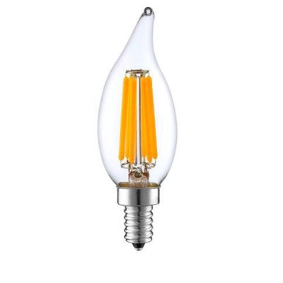 LEDCA106W40 - The work horse of the candelabra all-purpose bulb