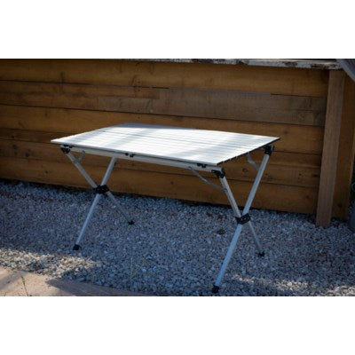 LT4327GA - Table in a Bag.   Picnic - Large Aluminum Portable - Silver  43 x 27 x 27H