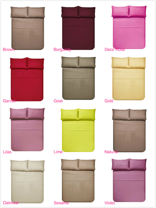 Assortment of Bed Sheets - 60 Sets