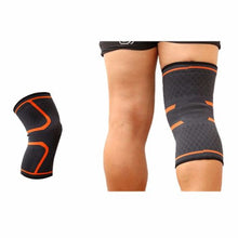 Load image into Gallery viewer, 2X Knee Sleeve Compression Brace Support For Joint Pain and Arthritis Relief