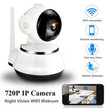 Load image into Gallery viewer, Wireless 720P Pan Tilt Night Vision WiFi Webcam