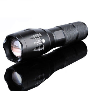 5000 Lumen LED AAA Flashlight with Zoomable Torch