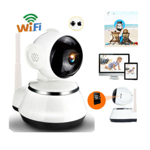 Wireless 720P Pan Tilt Night Vision WiFi Webcam