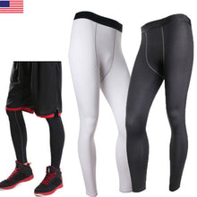 Load image into Gallery viewer, Men's Body Armour Compression Sports Tights Gym Gear