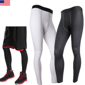 Men's Body Armour Compression Sports Tights Gym Gear