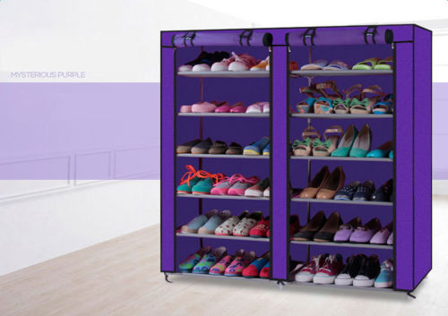 Shoe Rack Shelf Storage Closet Organizer Cabinet Fits 36 Pairs
