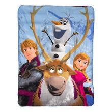 "Load image into Gallery viewer, Disney Frozen 45x60"" Soft Fleece Throw"