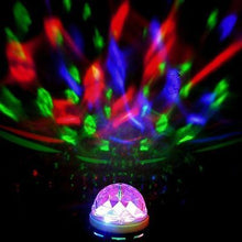 Load image into Gallery viewer, Crystal Ball Rotating LED Stage Light Bulb for Club DJ Disco Party