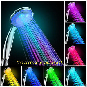 7 Colors Changing LED Shower Glow Light