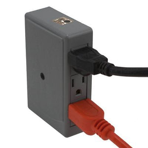 2 Side Entry 6-Way Electrical Socket Outlet