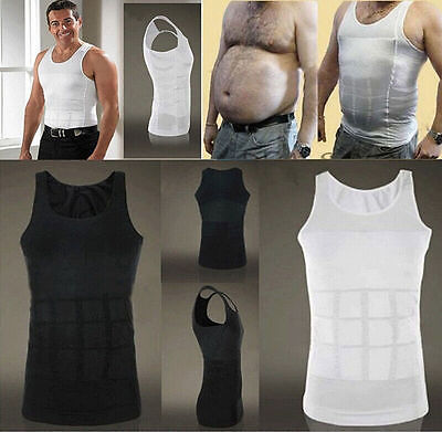 Men Body Slimming Tummy Shaper Vest