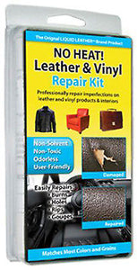 Liquid Leather & Vinyl Repair Kit To Fix Holes Burns Rips Gouges