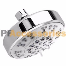 Load image into Gallery viewer, 5 Setting Water Saving Multi-Function Bathroom Massage Shower Head Chrome 4 inch