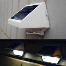 Load image into Gallery viewer, 4 LED Solar Powered Stairs Fence Garden Security Lamp Outdoor Waterproof Light