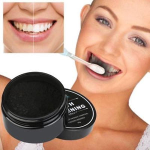 100% Natural Charcoal Teeth Whitening Powder