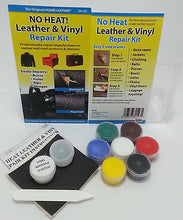 Load image into Gallery viewer, Liquid Leather & Vinyl Repair Kit To Fix Holes Burns Rips Gouges