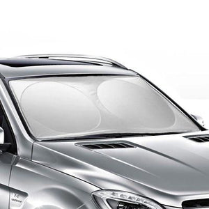 Folding Jumbo Front Car Window Sun Shade