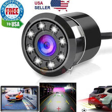 Load image into Gallery viewer, 170° CMOS Car Rear View Backup Camera Reverse 8 LED Night Vision Waterproof NEW