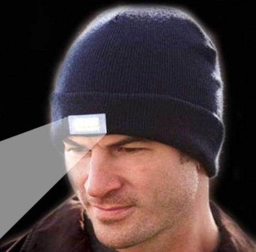 5-LED Beanie Lighted Cap