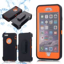 Load image into Gallery viewer, For iPhone X 8 7 6s Plus Waterproof Shockproof Dirt Proof Heavy Duty Case Cover