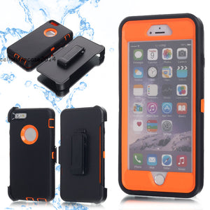 For iPhone X 8 7 6s Plus Waterproof Shockproof Dirt Proof Heavy Duty Case Cover