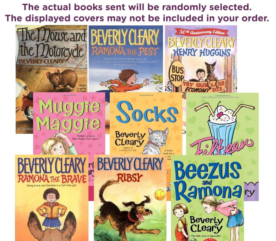 FIVE-BOOK BUNDLE BEVERLY CLEARY