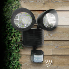 Load image into Gallery viewer, LED Dual Security Detector Solar Spot Light Motion Sensor