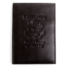 Load image into Gallery viewer, Leather RFID Blocking Passport Holder