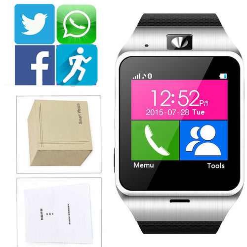 Bluetooth Smart Watch Phone + Camera
