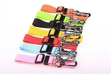 Load image into Gallery viewer, DOG Safety Seat Belt CAR Adjustable Nylon Pet Harness Restraint Lead Travel Clip