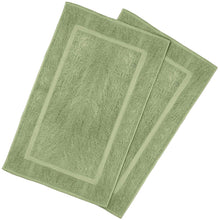 Load image into Gallery viewer, 2 Pack Bath Mat Cotton Washable  21x34