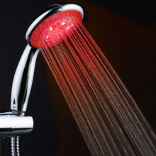 Load image into Gallery viewer, NEW Colorful Head Home Bathroom 7 Colors Changing LED Shower Water Glow Light