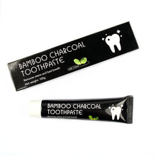 Load image into Gallery viewer, Bamboo Charcoal Toothpaste for Bad Breath and Teeth Whitening