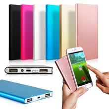 Load image into Gallery viewer, Ultra Thin 20000mAh Portable External Battery Charger