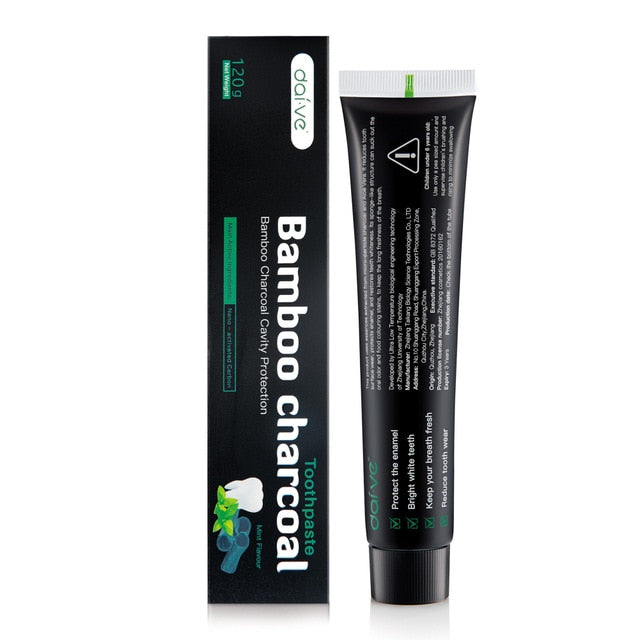 Tooth Care Bamboo Natural Activated Charcoal Teeth Whitening Toothpaste Oral Dental FDA CE Certification Dropshipping TSLM1